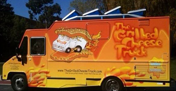 Gourmet grilled cheese truck